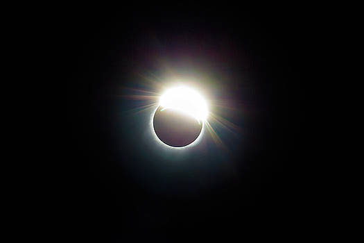 The Ring of 2017 Solar Eclipse by David Gn