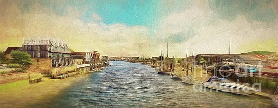 The River Arun at Littlehampton by Leigh Kemp
