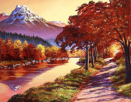 David Lloyd Glover - The River Runs Gold