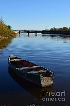 Joe Cashin - The River Suir at Fiddown
