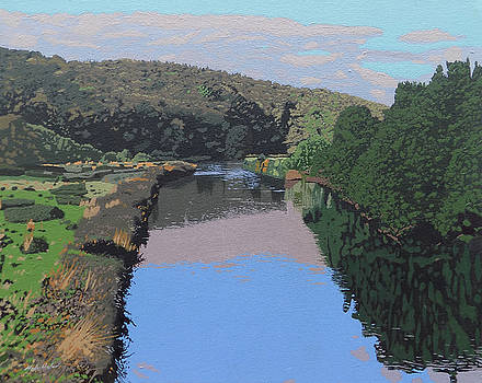 The River Tame by Malcolm Warrilow