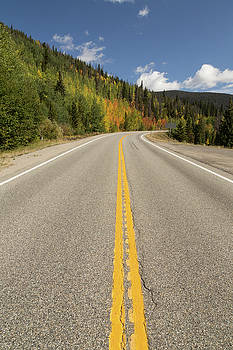 The Road and Loveland Pass by John Daly