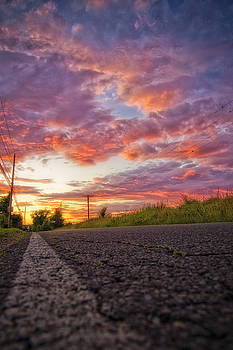 The Road Goes On Forever by Justin DeRosa