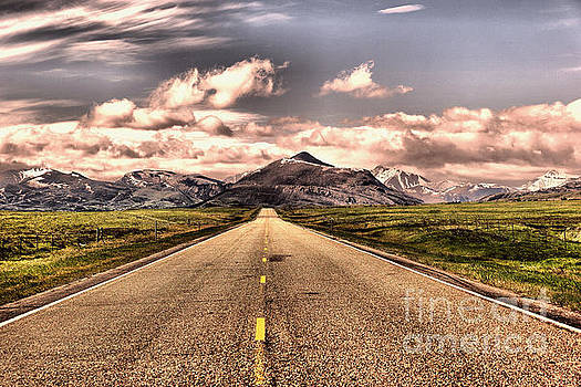 The road into paradise by Jeff Swan