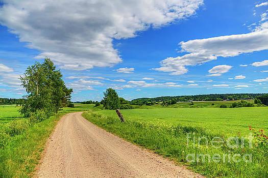 The road leads to... by Veikko Suikkanen
