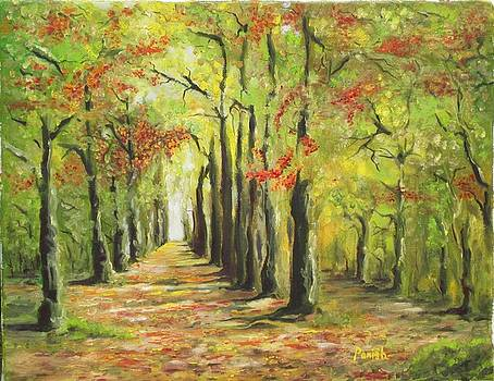 The Road Less Traveled by Paintings by Parish