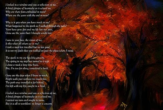 The road less travelled poem by Michelle Dick