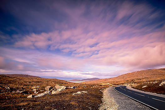 The road to Luskentyre by Neil Alexander