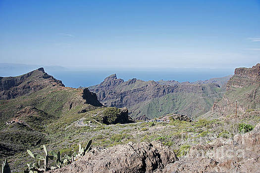 Compuinfoto  - the road to masca on tenerife