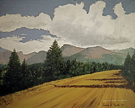 The Road to Pikes Peak by Frank Hunter