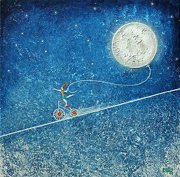 The robbery of the moon by Graciela Bello