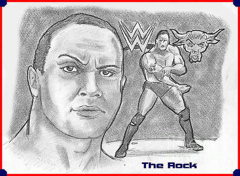 The Rock by Chris  DelVecchio