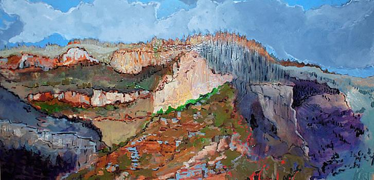 The Rockies by Kurt Hausmann