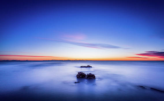 The Rocks Before Sunrise. by Gary Gillette