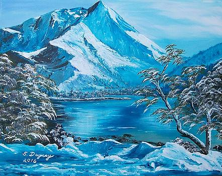 The Rocky Mountains  by Sharon Duguay