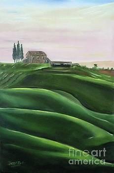 Derek Rutt - The Rolling Green Fields Of Tuscany