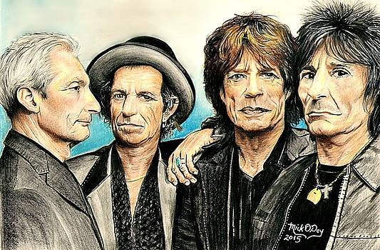 The Rolling Stones by Mick ODay