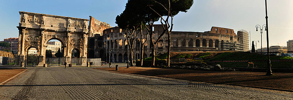 The Roman Colosseum by Eric Liller