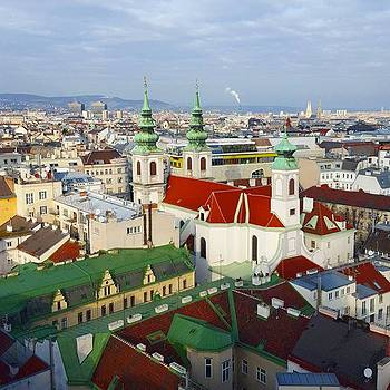 The Roof Tops If #vienna. Really Pretty by Dante Harker