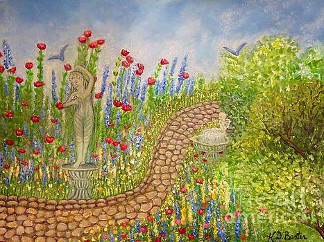 The Rose Dancer Garden of Victorian Delight by Kimberlee Baxter
