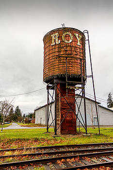 The Roy Water Tower by Rob Green