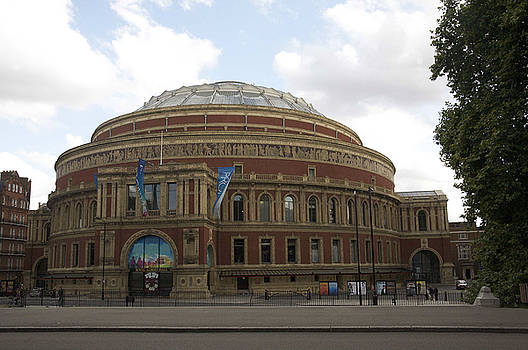 The royal Albert hall.  by Christopher Rowlands