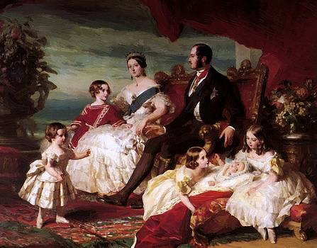 Winterhalter Franz Xaver - The Royal Family In 1846 1846