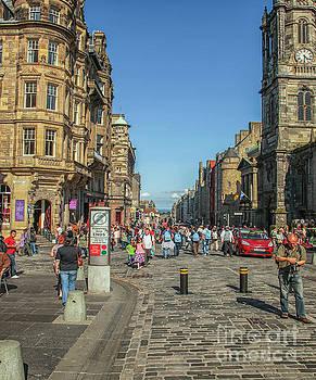 Patricia Hofmeester - The Royal Mile in Edinburgh
