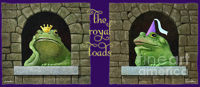 Will Bullas - the royal toads...