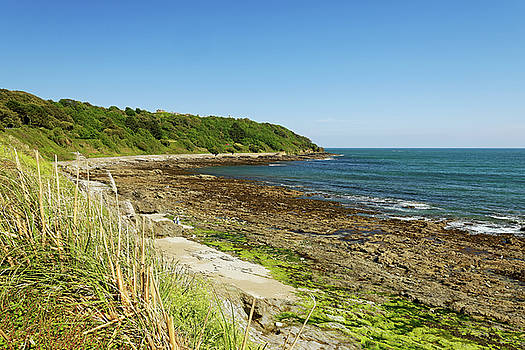 The Rugged Castle Beach - Falmouth by Rod Johnson