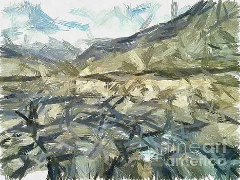 The rugged mountain by Ashish Agarwal