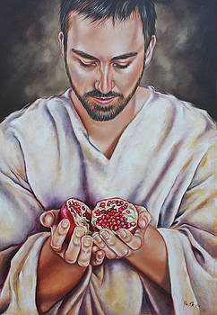 The sacrifice of Jesus by Ilse Kleyn