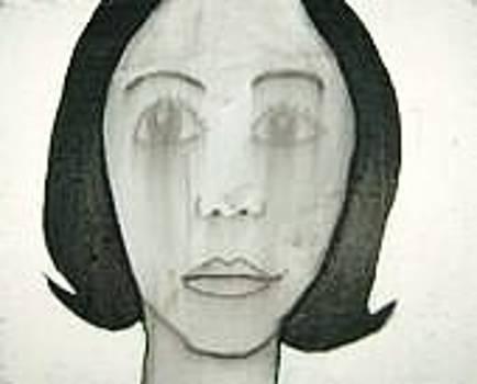 The sad girl by Miguel Davlantes