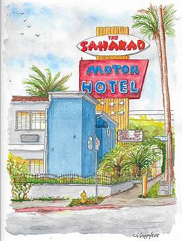 The Saharan Motor Motel in Hollywood, California by Carlos G Groppa