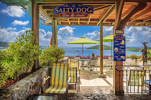 The Salty Dog Charlotte Amalie by Keith Allen
