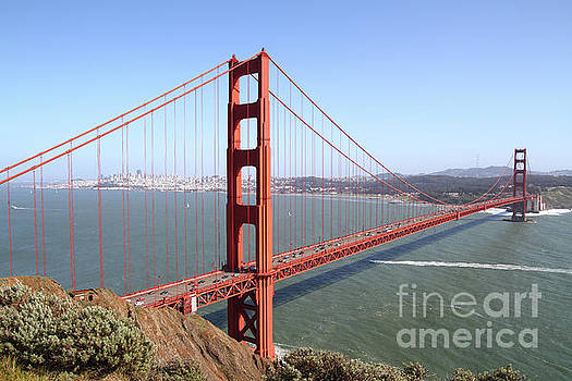 The San Francisco Golden Gate Bridge 7D14507 by San Francisco