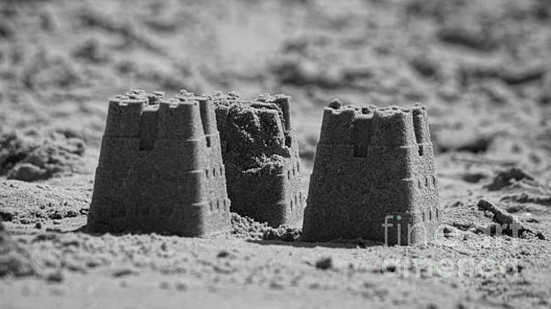 The sand holds my castles by Evan Sorrell