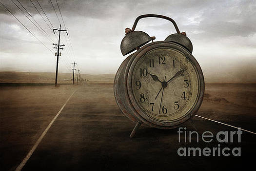 The Sands of Time Surreal by Edward Fielding