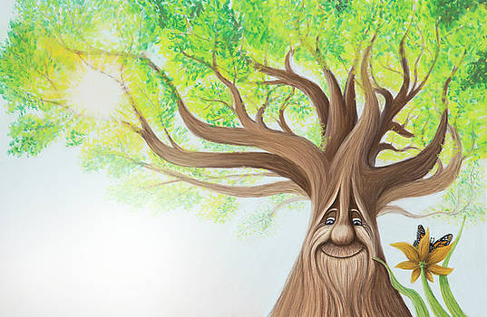 The Sapling - A Friendly Old Face by Emily MacDonald