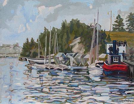 The Saugeen at Southampton by Phil Chadwick