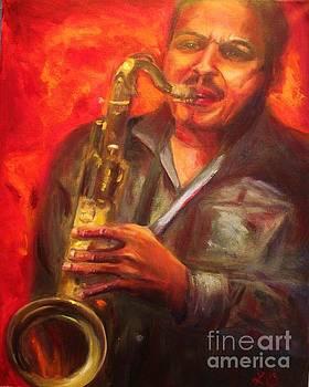 The Sax Player by Osborne Lorlinda