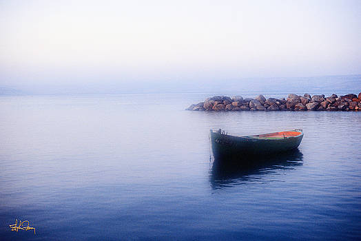 The Sea of Galilee - Israel by Stephen Fanning