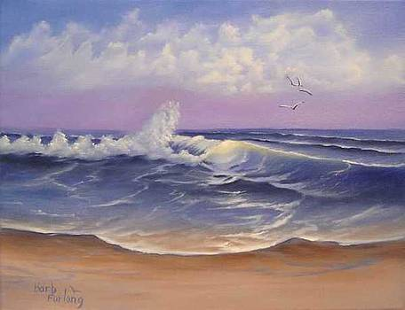 The Sea seascape oil painting by Barbara Furlong