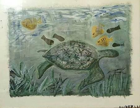 The Sea Turtle  by Amber Waltmann
