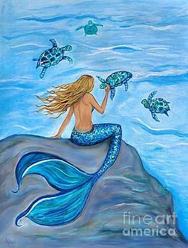 The Sea Turtles Friend by Leslie Allen