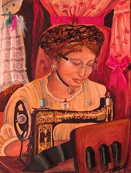 The Seamstress by Carol Allen Anfinsen