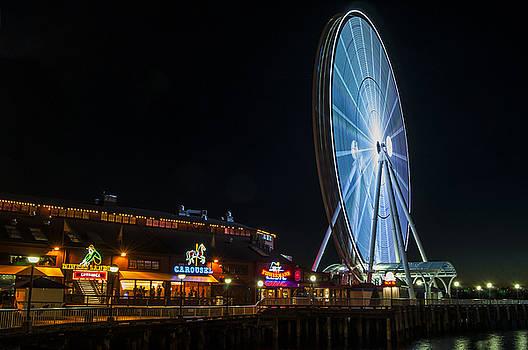 Pelo Blanco Photo - The Seattle Great Wheel 2