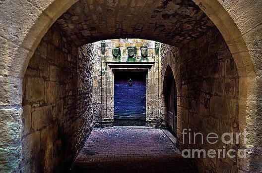 The Secret behind the Medieval Blue Door by Silva Wischeropp