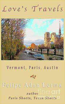 Felipe Adan Lerma - The Seine And Quay Beside Notre Dame, Autumn Cover Art