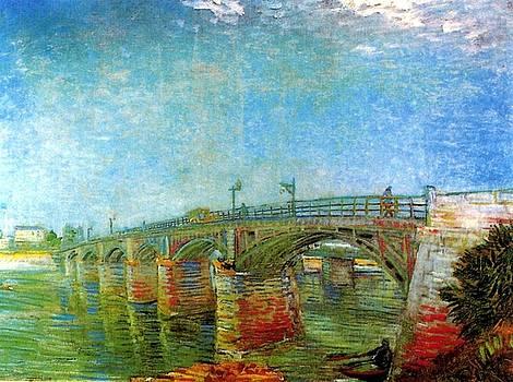 Van Gogh - The Seine Bridge At Asnieres